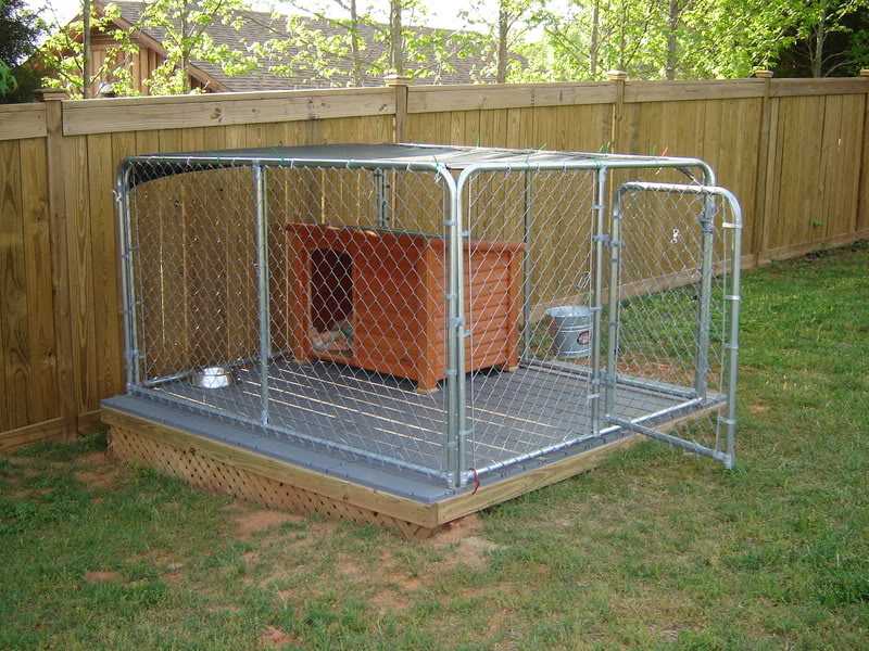 High Quality Chain Link Dog Kennel Fence Panel 10x10x6