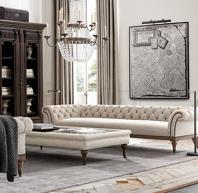 High End On Tufted Comfortable