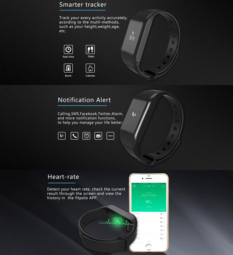 Ip67 Waterproof Smart Watch Band Support Pedometer M2 Smart