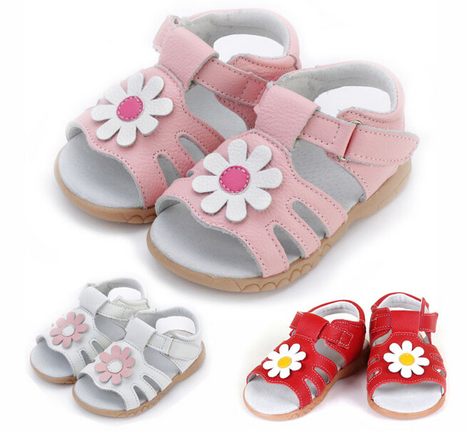 HOT!!!!!2014 Summer children shoes FLOWERS GIRLS sandals Real leather top quality MODEL:AR001