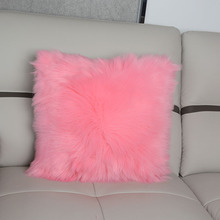 60 x 60 Indian Luxury Custom Fur Outdoor Cushion Cover