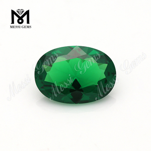 Wholesale Price Paving Stone Synthetic Emerald Nano Gems