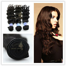 Good quality unprocessed 5a top grade wave virgin brazilian hair wholesale