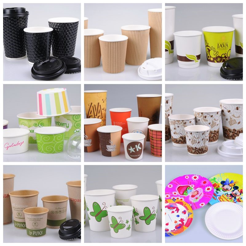 custom printed paper coffee cups Eco-friendly cups save the earth one custom printed cup at a time show your customers your eco-friendly efforts by printing on eco-friendly paper hot cups and pla plastic cold cups.