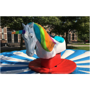 Beautiful inflatable unicorn,mechanical unicorn riding horse,mechanical unicorn rodeo for sale
