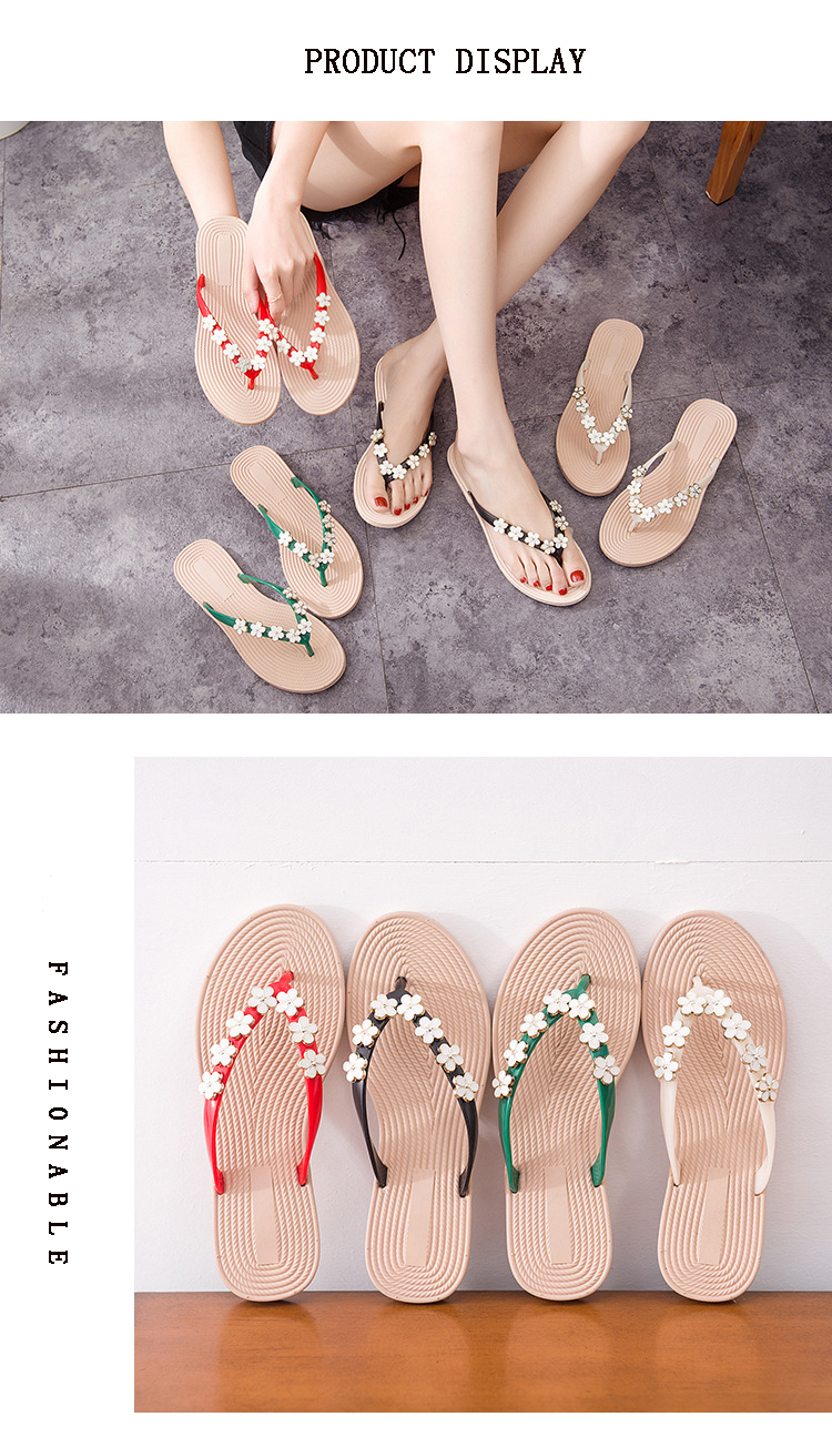 lace up in cheaper huge selection of New Summer 2018 Fashion Trend Anti-skid Flat Woman Slippers - Buy ...