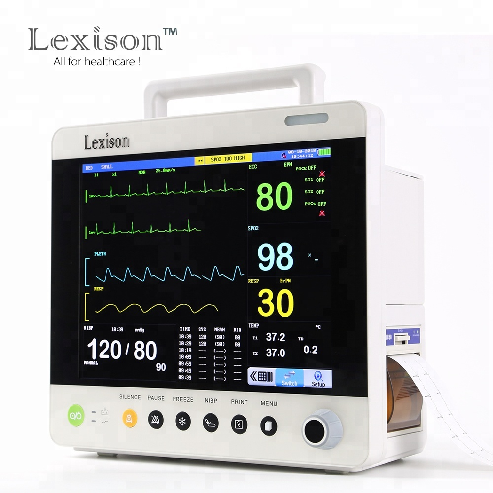 PPM-J2012 High Quality Cheap price 12.1inch Multi parameter Patient Monitor