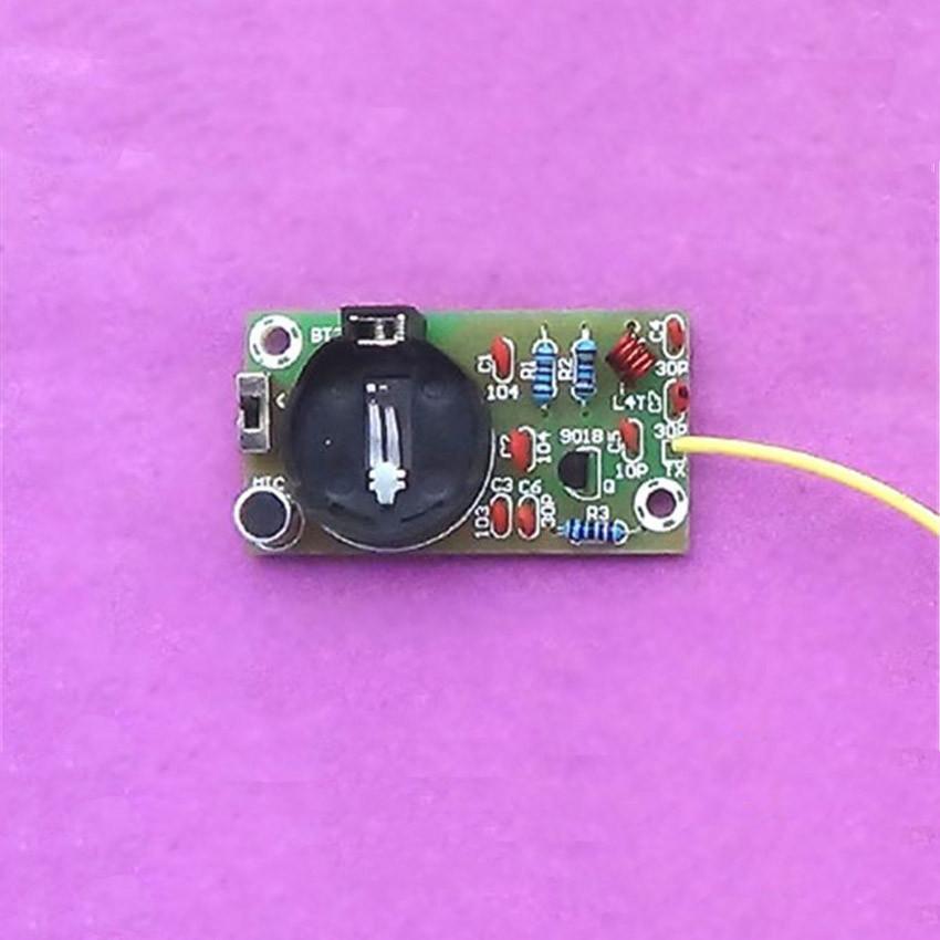 Simple Fm Transmitter Board Parts Electronic Training Diy Kit