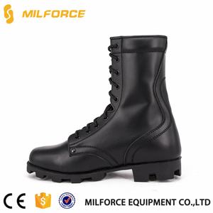 MILFORCE-Exquisite craft good quality split leather dms combat boots