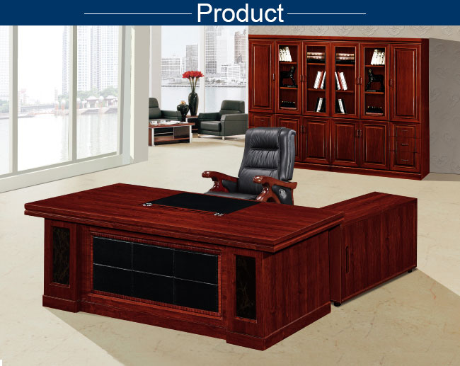 Clic Wooden Office Table Hdf Board L