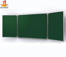 Government supplier classroom used folding chalkboard