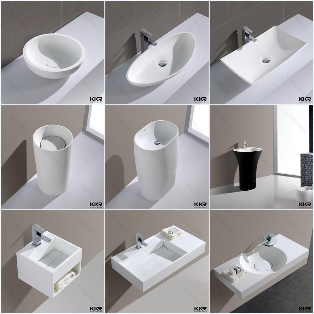 Runde Kunststoff Waschbecken,Fuß Waschbecken,Bad Doppelwaschbecken ...