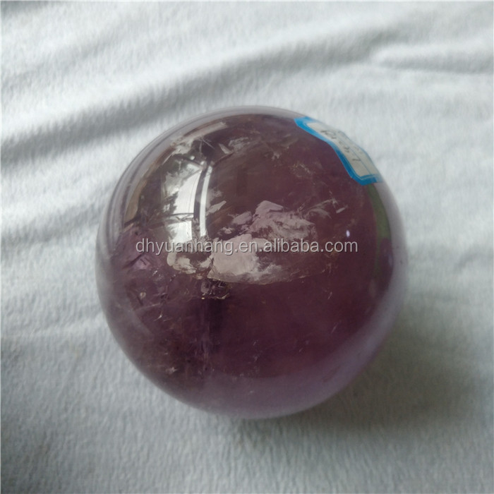 natural big sizes amethyst quartz crystal balls 10cm crystal healing spheres