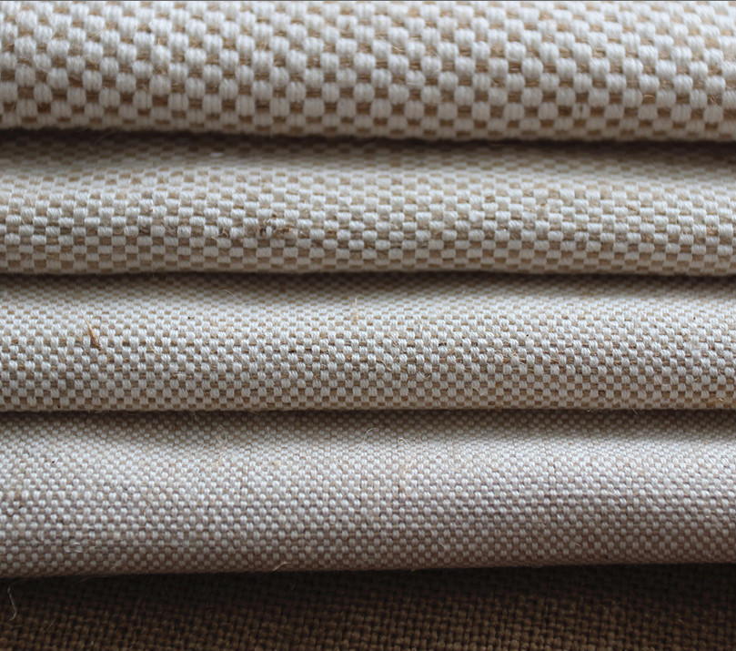 2014 Mode Emas Print Kotak Kotak Katun Stripe Kain Goni