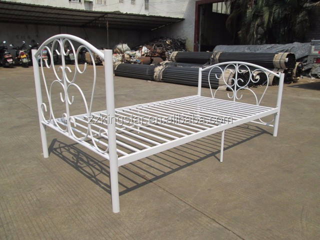 Cheap Steel Single Bed Designs Twin Size Metal Bed Frames ...