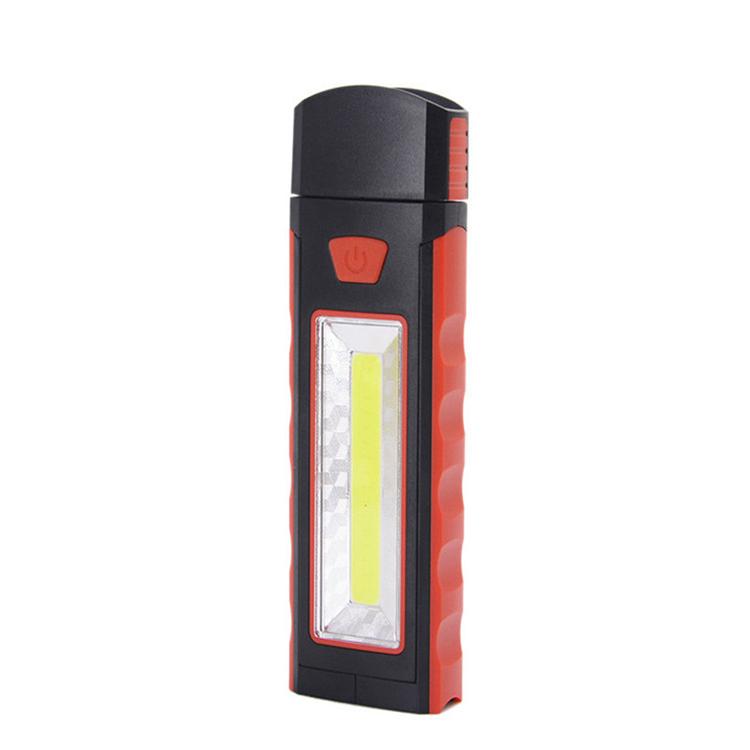 Magnet Flashlight Portable Hands-free COB LED Work Light with Adjusting Stand