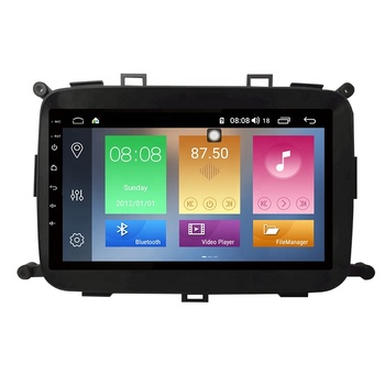 IOKONE New 9 Inch IPS 2.5D touchscreen Bluetooth5.0 GPS navigation Android 9.0 Car audio For KIA Carens 2013 2014 2015 2016