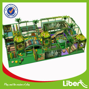kids indoor exercise playground equipment LE-BY025