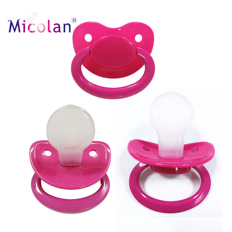 Large adult pacifier