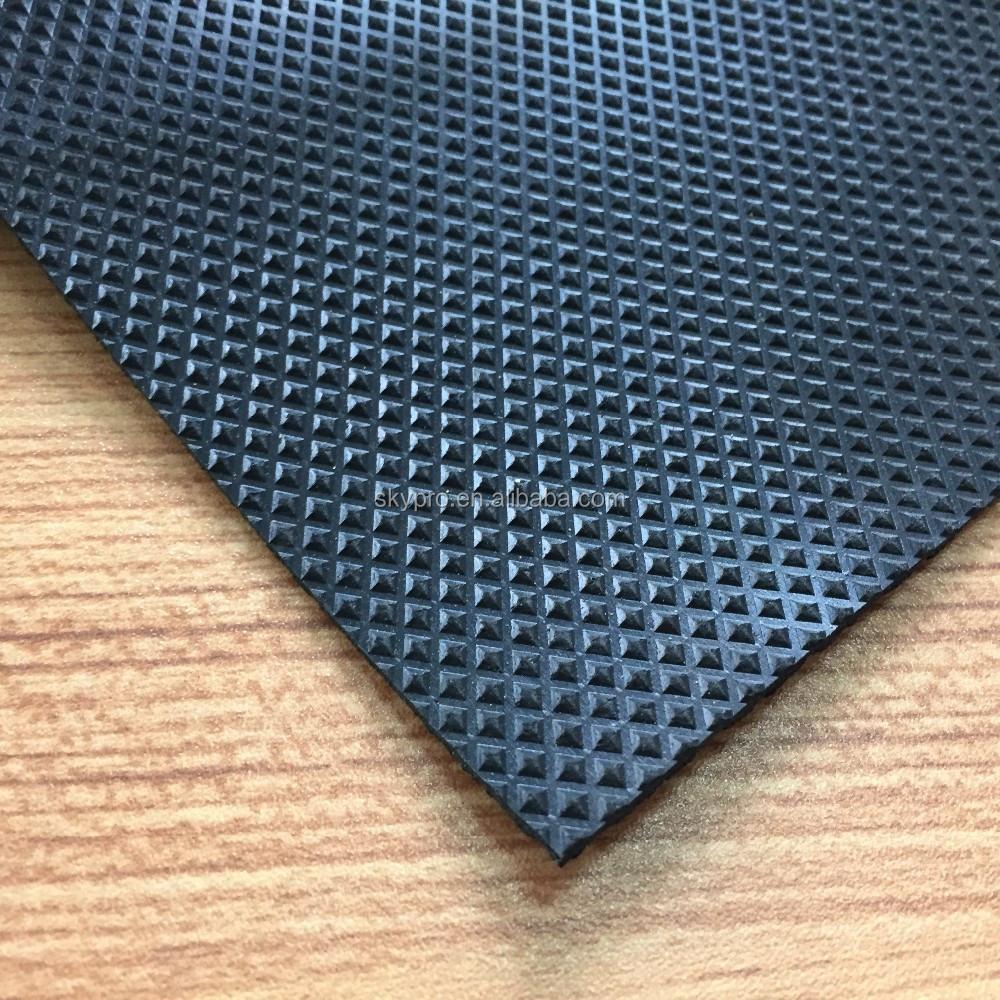Pyramid Pattern Neoprene Rubber Mat For Anti Skidding Rubber Flooring Matting Buy Car Mat