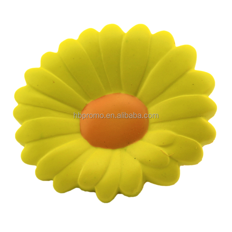 Sunflower Slow Rising Squishy Oyuncaklar Kawaii PU Foam Toys