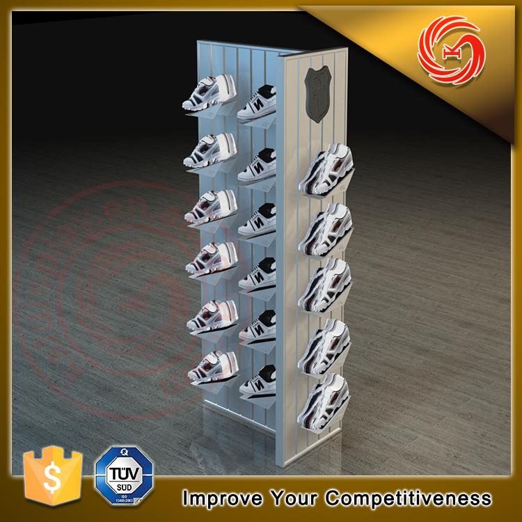 Modern Unique Shoes Display Case Rack For Shoes Store Decoration ...
