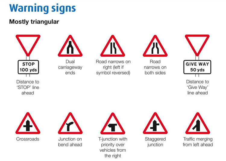 Triangle Road Signs >> Road Safety International Reflective Sheeting Traffic Signs Road