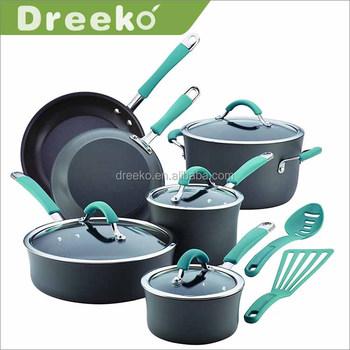 12 Piece Masterclass Premium Prestige Kitchen Ware Cookware Set Non ...