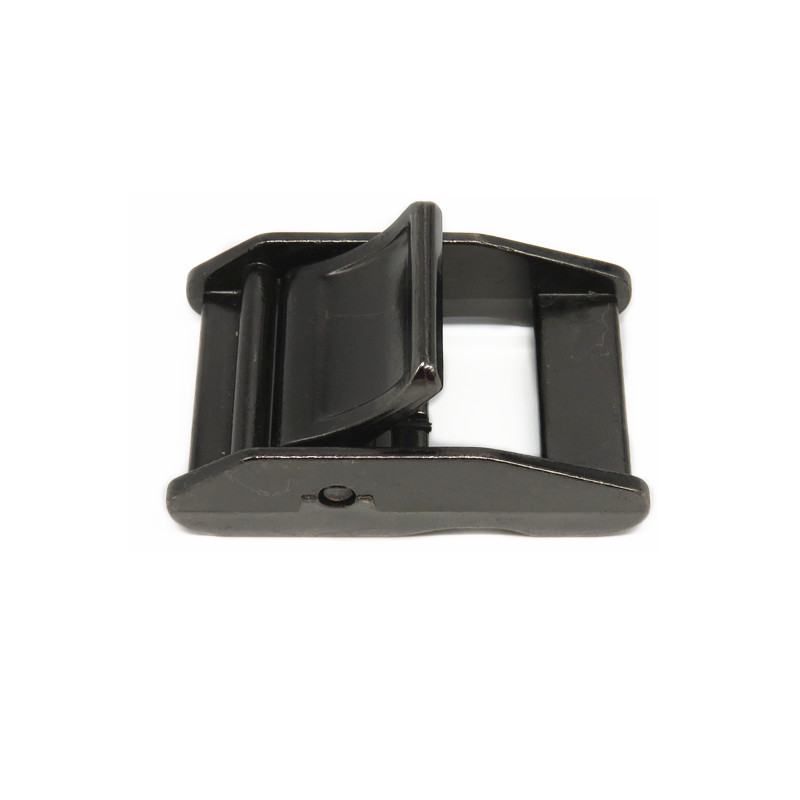 Metal Black Ratchet Trimming Cam Lock Buckle