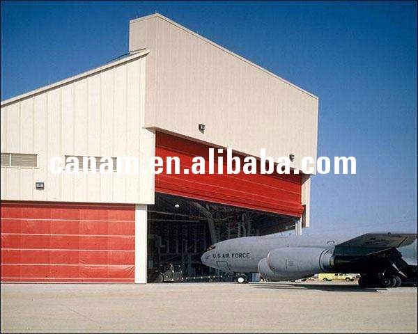 prefabricated steel structure workshop plan portable aircraft hangar