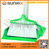 Factory Direct Sale Cleaning Long Handle Plastic Broom With Dustpan