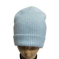 Fashion korean winter version acrylic beanie in soft hand feeling knitting beanie hat