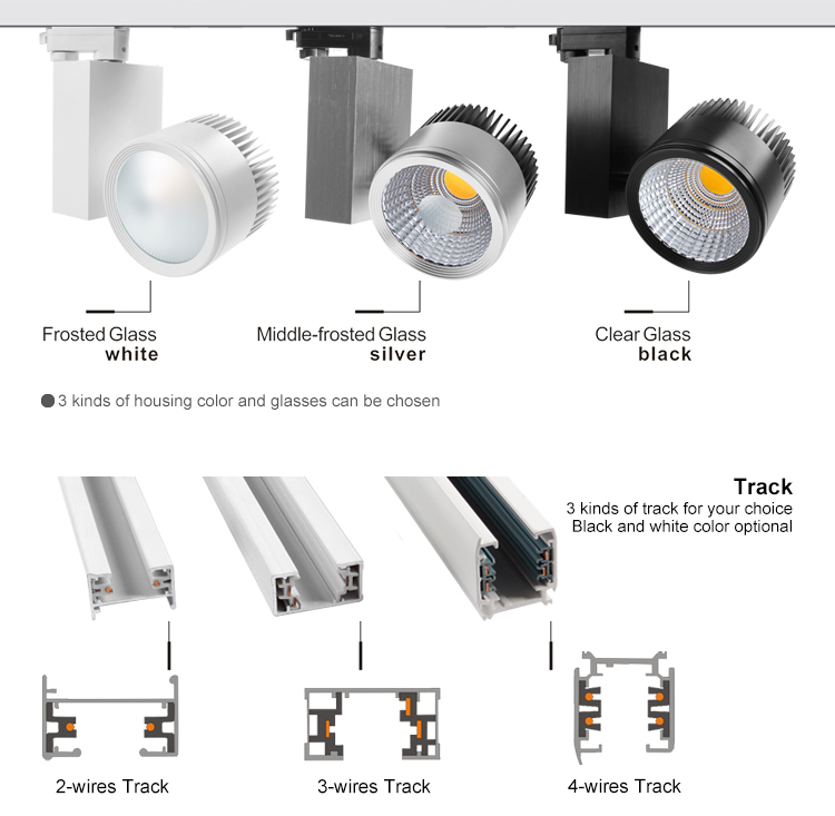 4 Pin Eutrac Track System Ce Rohs Erp