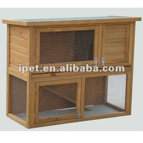 pas cher 3ft ext rieur en bois hamster cage avec plateau en plastique cage caisse transporteur. Black Bedroom Furniture Sets. Home Design Ideas