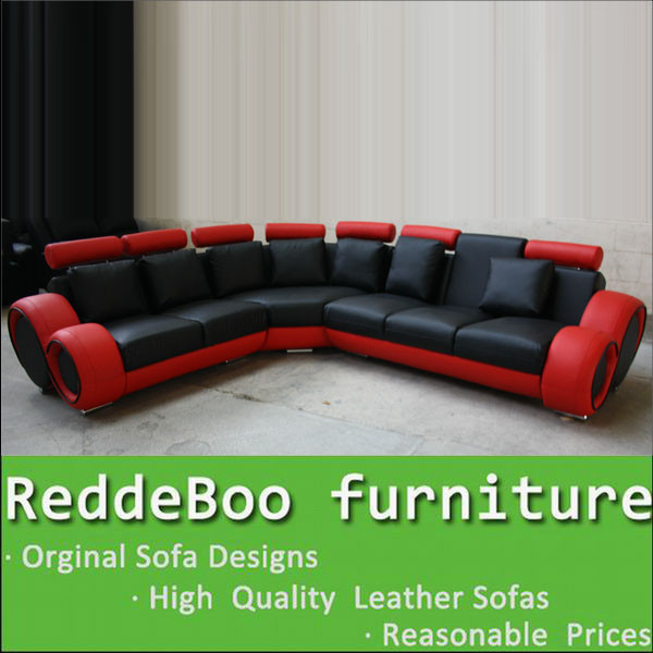Sofa Furniture Imported From China Red Le New Products