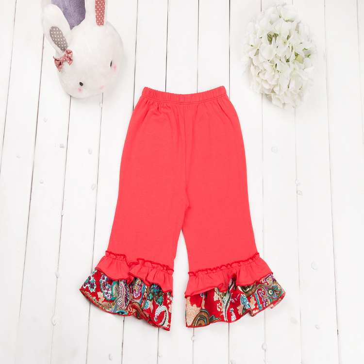 Wholesale Baby Suits,Ruffle Top Capris Set,Girls Skirt Top Capri ...