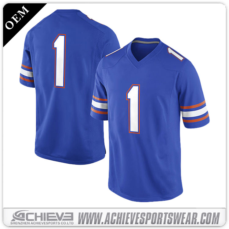 Customize blank football jersey mesh american football jerseys wholesale customized american football jerseys