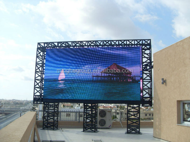 long life span commercial led electronic displays high definition