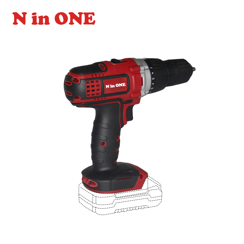 NinONE 18V Li-Ion Double Speed 45Nm Solo Machine High Performance Cordless <strong>Drill</strong>