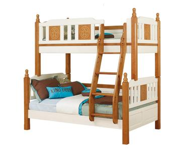 Sampo Kids Cars Bunk Beds Solid Wooden Children Bunk Bed For Sale In