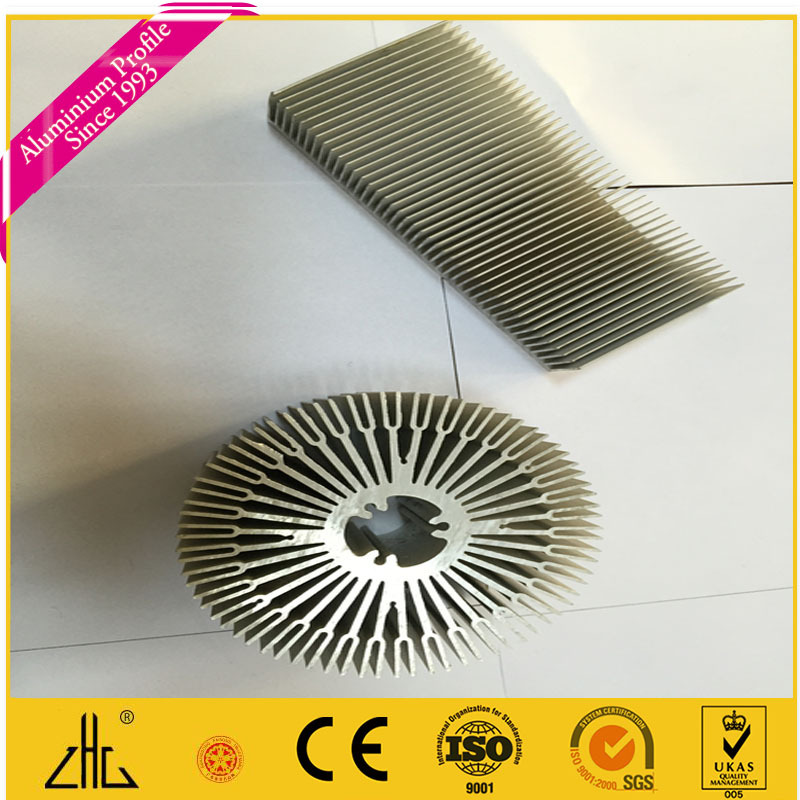 Hot Selling Extruded Led Aluminum Heat Sink,Anodized Cold Forging ...