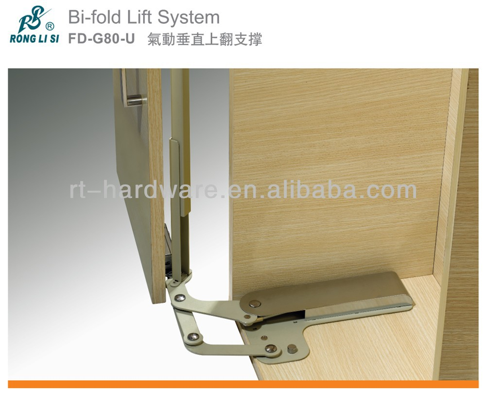 Furniture Cabinet support lift Bi-fold Lift System