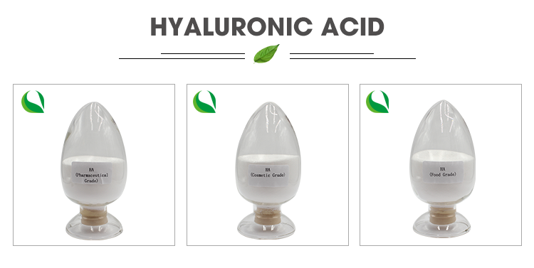 Cosmetic Grade Hyaluronic Acid Powder Raw Material  Skin Care Product