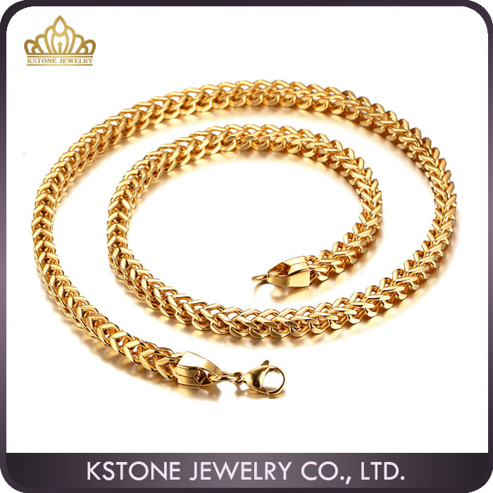 Kstone Dubai New Gold Chain Design For Men Stainless Steel Gold ...