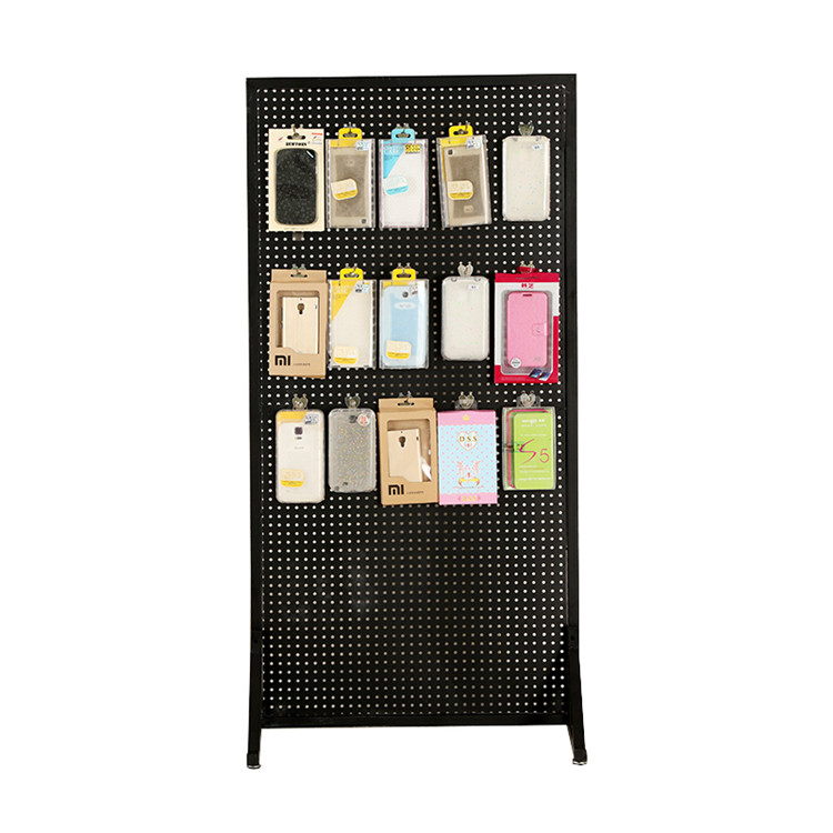 Metal Hook Cell Phone Accessory Display Rack Stand For Retail Store
