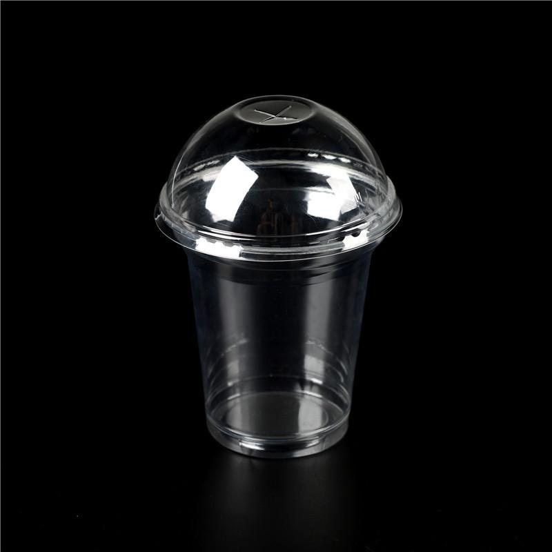vaso de plástico con tapa, 16 oz vaso de plástico, vasos desechables ...
