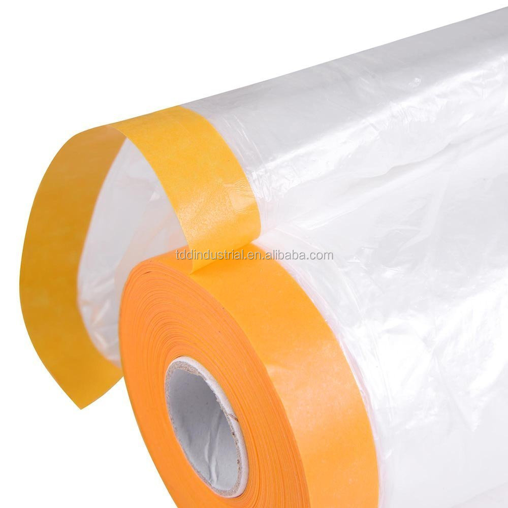 Pe film + washi Car Furniture  Film Paint protection film masking 2800*1500mm