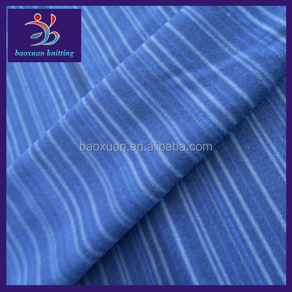 160gsm jersey knit 95% polyester 5% elastane fabric