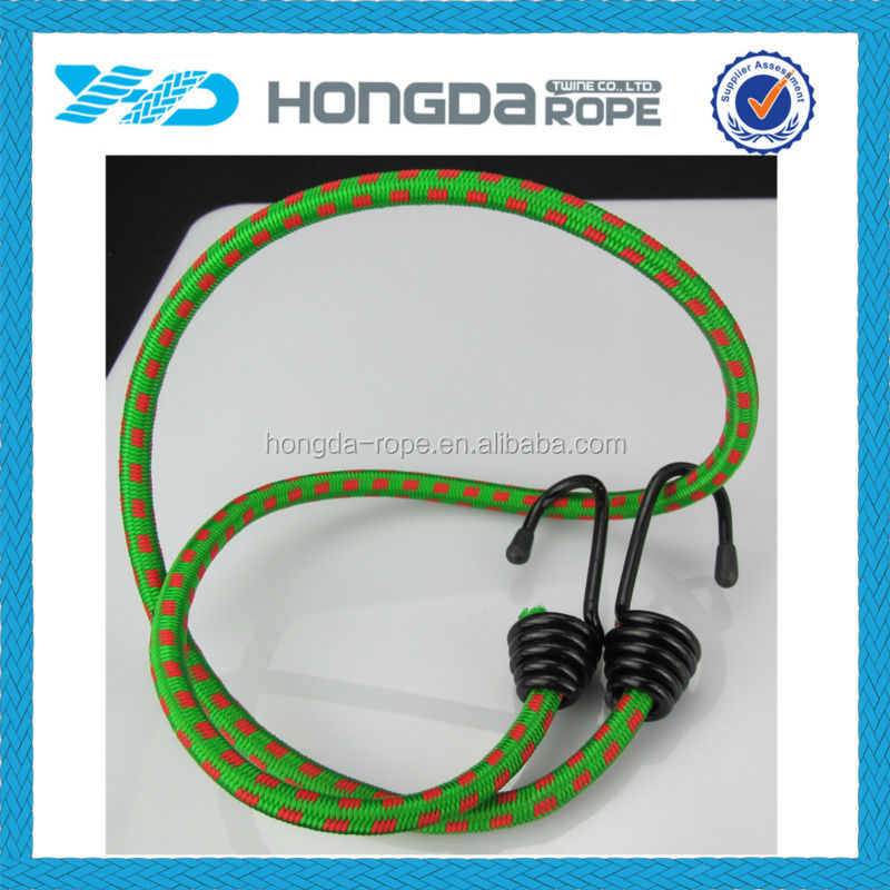 solid polyester cover rubber core elastic rope with two metal hooks elastic silicone rope buy. Black Bedroom Furniture Sets. Home Design Ideas