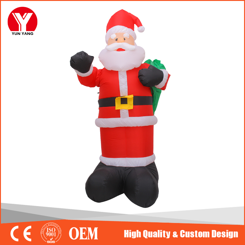 Giant inflatable santa claus, Christmas decoration